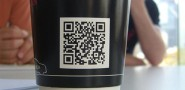 QR CODES ON PAPER CUPS