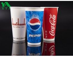 cold drinking paper cups, cold paper cups, coca cola cup, disposable coffee cup, double PE cold cups