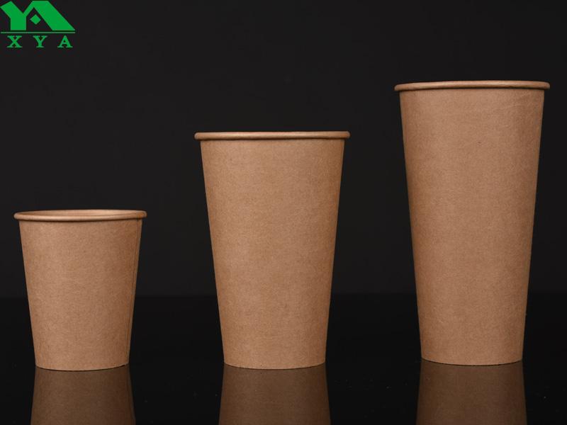 PLA tasses de papier de revêtement, du papier tasse, tasses PLA, papier biodégradable tasse. PLA tasse de papier