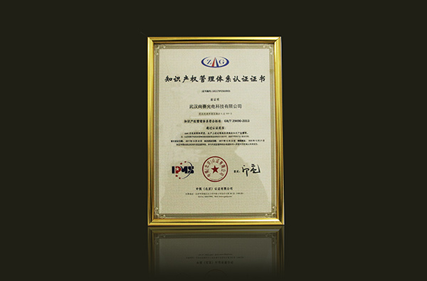 Intellectual property management system certification